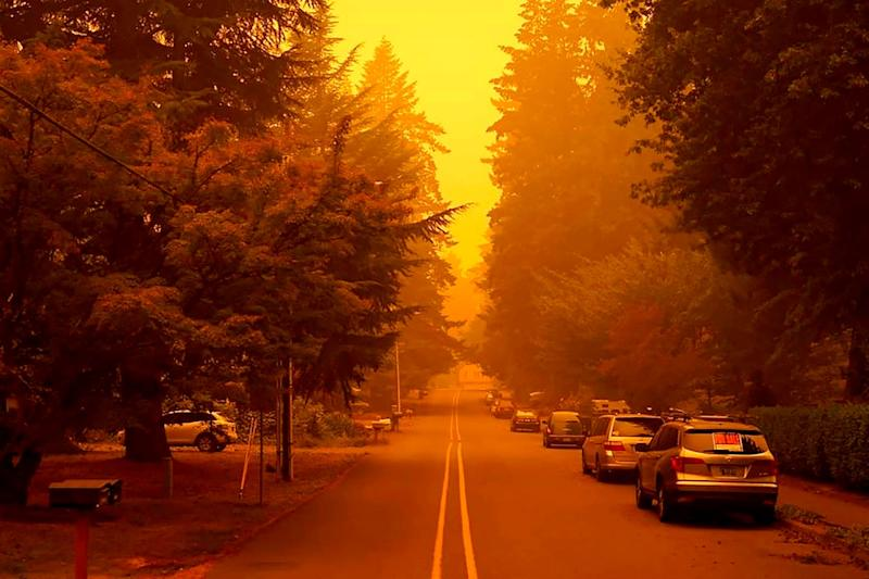Plumes of Smoke Rising from Historic US Wildfires Seen Thousands of Kilometres Away in Europe