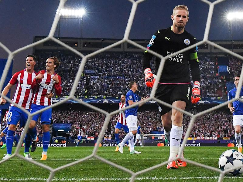 Schmeichel refused to publicly criticise the penalty decision: Getty