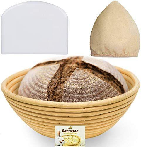 """<p><strong>Bread Bosses</strong></p><p>amazon.com</p><p><strong>$16.40</strong></p><p><a href=""""https://www.amazon.com/dp/B01GM4UZJI?tag=syn-yahoo-20&ascsubtag=%5Bartid%7C10067.g.29576420%5Bsrc%7Cyahoo-us"""" rel=""""nofollow noopener"""" target=""""_blank"""" data-ylk=""""slk:Shop Now"""" class=""""link rapid-noclick-resp"""">Shop Now</a></p><p>For your friend who's still feeding their sourdough starter, this proofing basket will help them create the perfect loaf. </p>"""