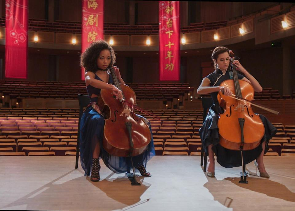 "<h3><strong><em>The Perfection</em></strong><br>May 28</h3><br><br>If we had to guess which Netflix thriller would turn into a viral sensation, our bet would be on <em>The Perfection</em>. The movie's synopsis is admittedly opaque: Two cello prodigies reunite in Shanghai. But the cast (Logan Browning and Allison Williams) combined with the movie's <a href=""https://filmschoolrejects.com/the-perfection-review/"" rel=""nofollow noopener"" target=""_blank"" data-ylk=""slk:hype"" class=""link rapid-noclick-resp"">hype</a> has us hopeful."
