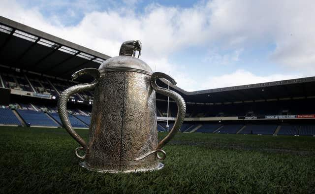 The Calcutta Cup is contested every year by England and Scotland