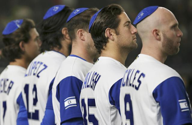 """Heading Home,"" is a film about Israel's run deep into the 2017 World Baseball Classic. (AP)"