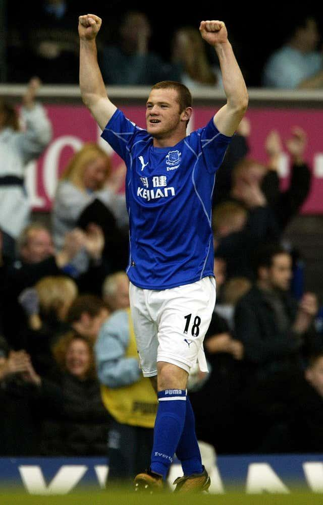 Rooney stunned Arsenal as a 16-year-old in 2002