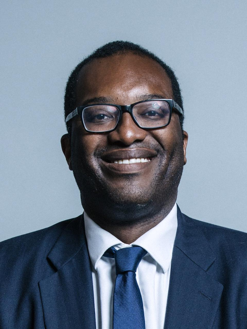 Kwasi Kwarteng was recently appointed business secretary, relieving Alok Sharma of the role and allowing him to focus on his ole as president of the UN COP26 climate conference in NovemberUK Parliament