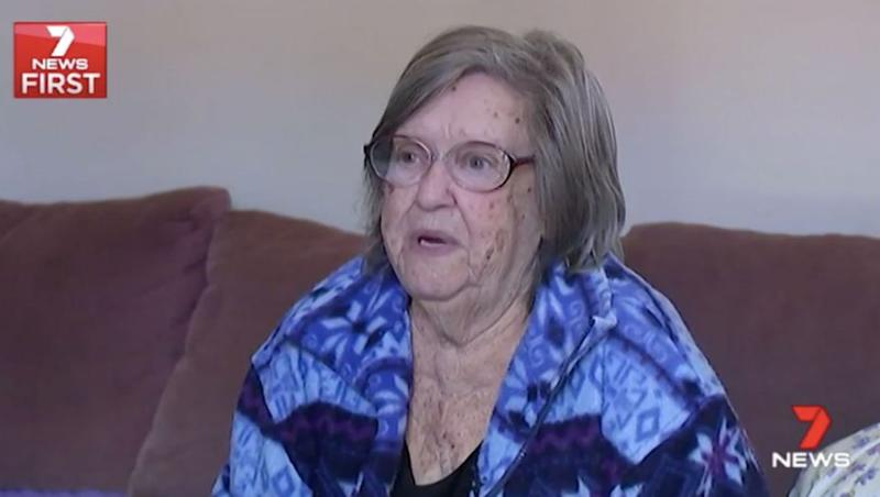 Anne Bates, 81, says dealing with Dreamworld was not fun. Source: 7 News