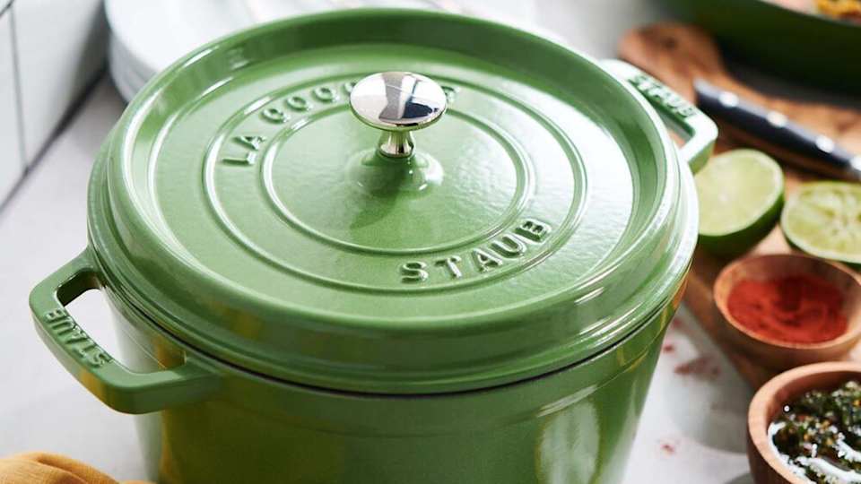 Staub makes the best Dutch oven you can buy—and right now, it's on sale.