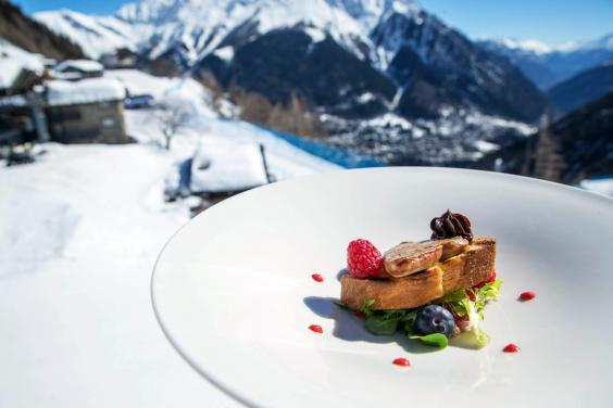 Courmayeur serves up top-class cuisine (Le Massif)