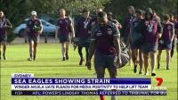 Manly senior players have hit back this morning after the week from hell for the Sea Eagles on and off the field.