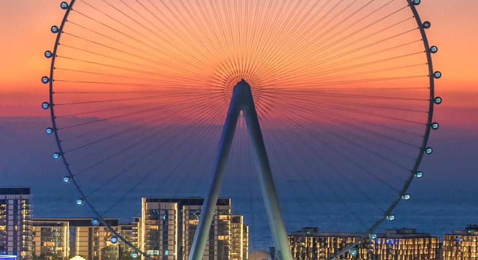 Ain Dubai is now the largest ferris wheel in the world (SWNS)