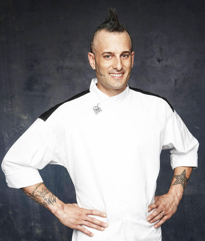 "HELL'S KITCHEN: Barrett Beyer (Long Island, NY) is a contestant on Season 11 of ""Hell's Kitchen."""