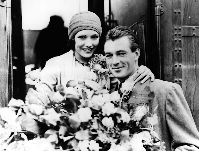 Lupe Velez y Gary Cooper. Foto: Topical Press Agency/Getty Images