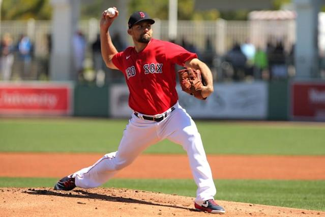 MLB: Spring Training-Toronto Blue Jays at Boston Red Sox