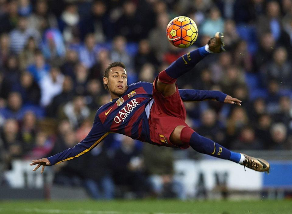 When Neymar is available, should you get him even if the fee redefines astronomical? Yeah, probably. (Getty)