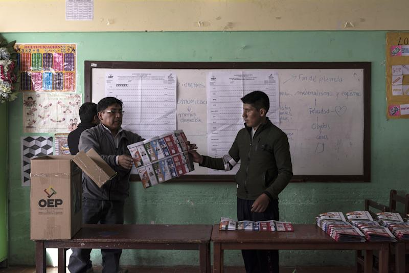 Riots and Cries of Fraud Roil Bolivia in Knife Edge Vote Count