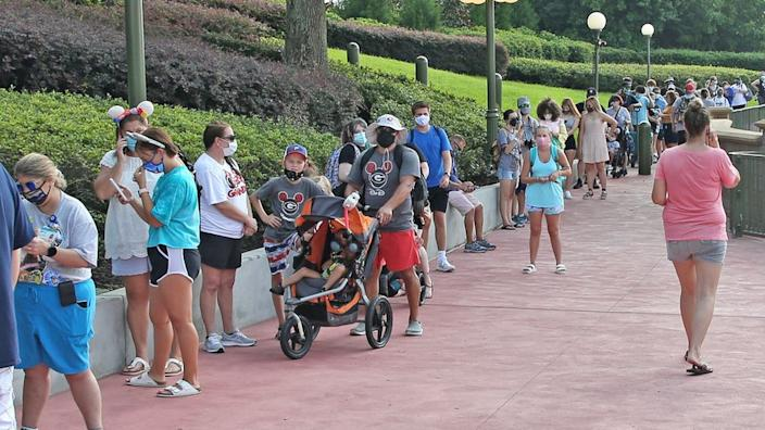 Disney is selling limited ticket numbers to help maintain safety