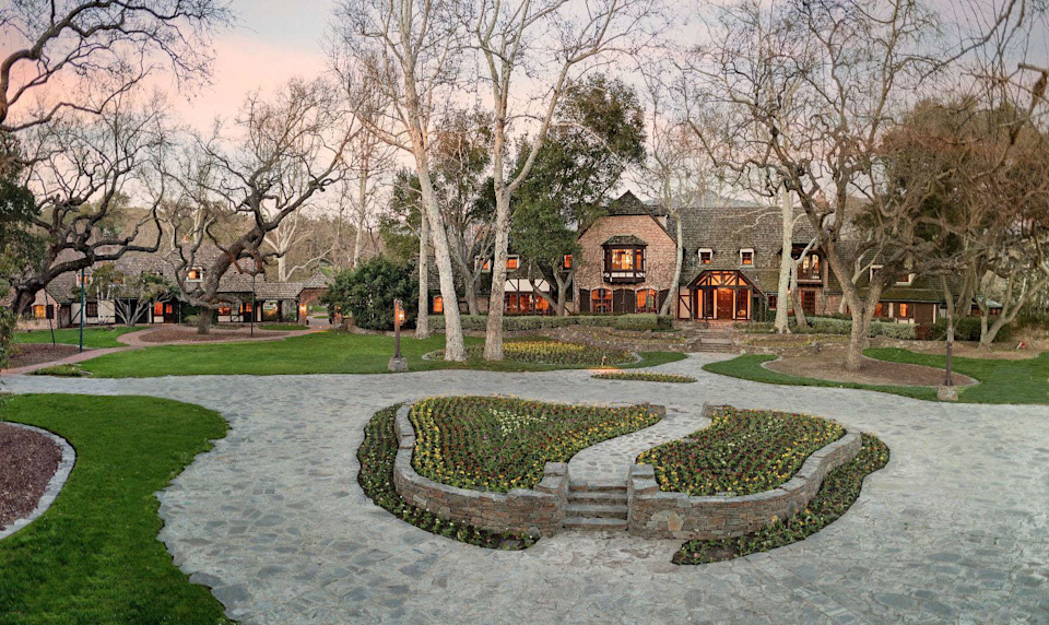 Michael Jackson's Neverland Ranch features multiple houses. (Photo: Compass)