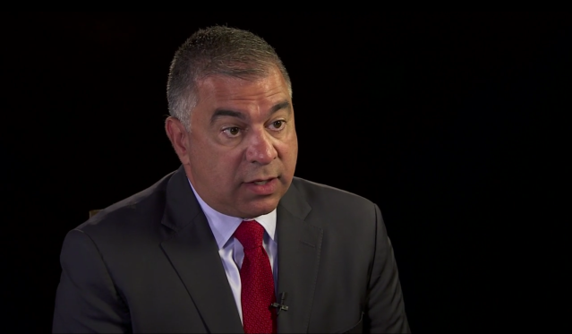 David Bossie, deputy Trump campaign manager. (Photo: Yahoo News Video)
