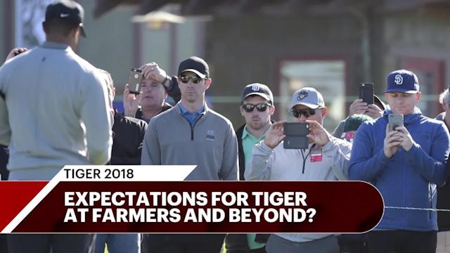 Tiger Woods returns to the PGA Tour at the Farmers Insurance Open in his first start on the PGA Tour since the same event last year. What should we expect?
