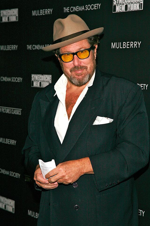 "<a href=""http://movies.yahoo.com/movie/contributor/1800020495"">Julian Schnabel</a> at the New York premiere of <a href=""http://movies.yahoo.com/movie/1809873025/info"">Synecdoche, New York</a> - 1015/2008"