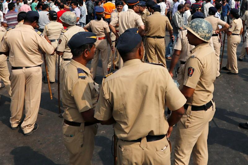Police Play Mute Spectators as MP Woman Sets Herself Ablaze, Stop Others From Saving Her Too
