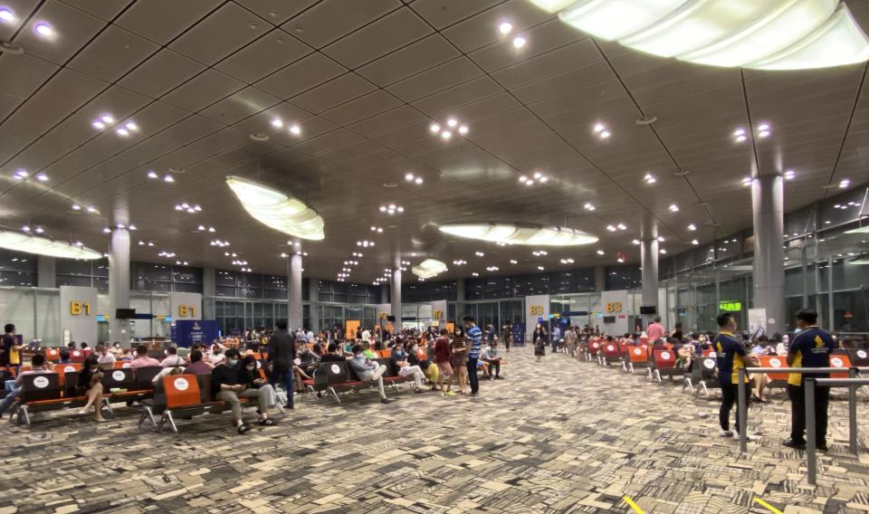 The scene at B1-B4 lounges. (PHOTO: Reta Lee/Yahoo Lifestyle SEA)