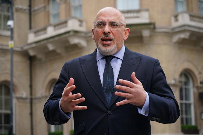 Vaccines minister Nadhim Zahawi arrives at BBC Broadcasting House in central London for his appearance on the BBC1 current affairs programme, The Andrew Marr Show.