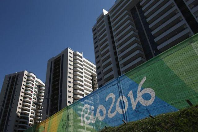 A general view of the Olympic and Paralympic Village for the 2016 Rio Olympic Games in Barra da Tijuca. (Getty Images)