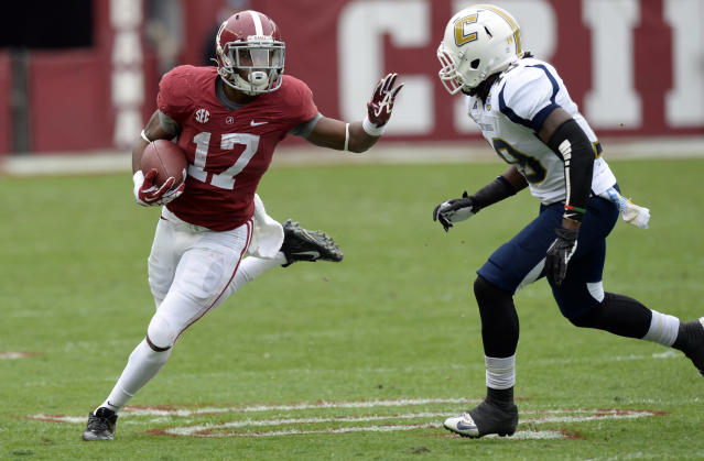 Alabama running back Kenyan Drake arrested