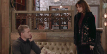 <p>Toyah is stunned when Leanne tells her the baby is Steve's. Later, Nick spots Steve and Leanne chatting and heads off to the bistro to hatch a plan. When Toyah finds out what he's up to, she's horrified. </p>