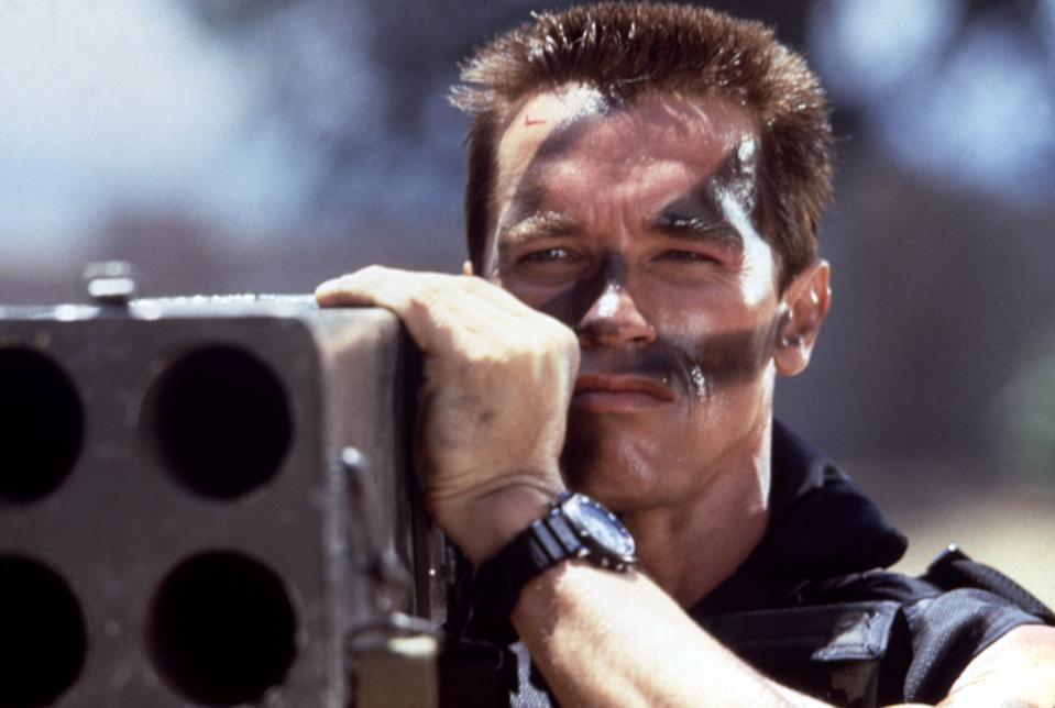 Schwarzenegger takes aim in 'Commando' (Photo: 20th Century Fox Film Corp. Courtesy: Everett Collection)