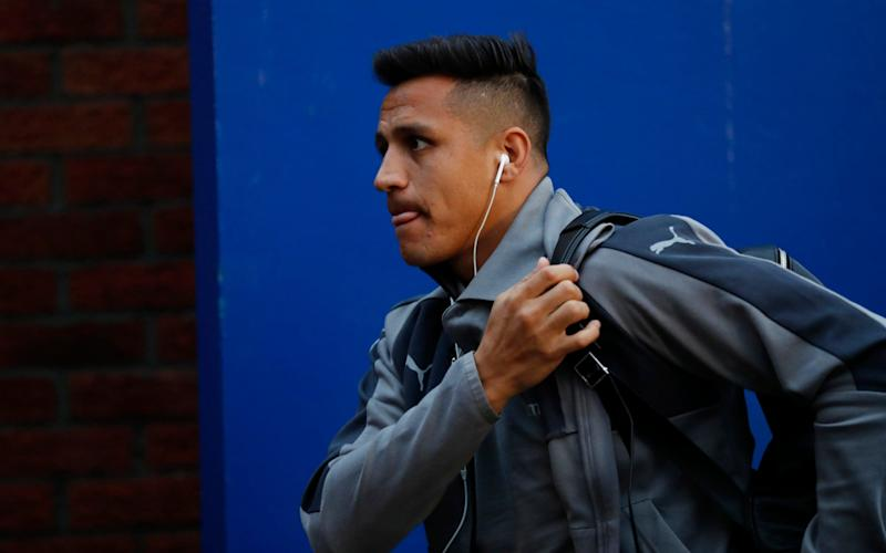 Alexis arrives at Palace - Credit: Reuters