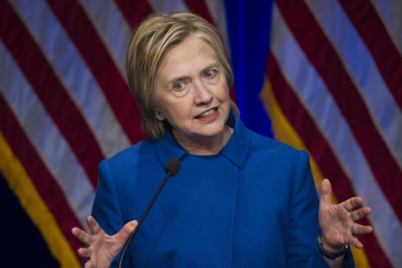 Hillary Clinton Tells Supporters to 'Never, Ever Give Up'