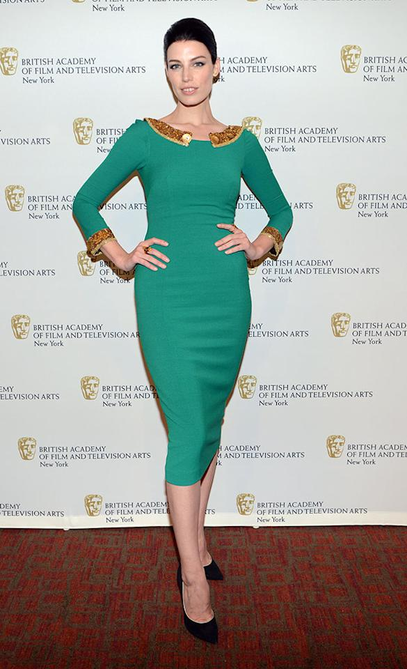 "Jessica Pare attends BAFTA New York Celebrates ""Mad Men"" at The Harvard Club on April 22, 2013 in New York City."