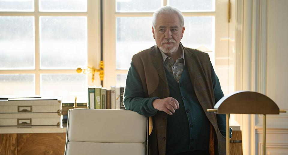 Brian Cox as Logan Roy, the family patriarch (HBO)
