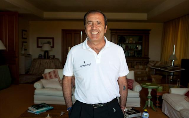 Seve Ballesteros in his house - Seve's final interview: 'In life, there's always a beginning and an end - it is tough when you see that it's coming: the end' - HEATHCLIFF O'MALLEY