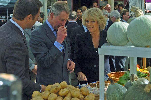 "<p>HRH has never been a <a href=""https://www.goodhousekeeping.com/home/gardening/advice/a18057/growing-garlic-460709/"" rel=""nofollow noopener"" target=""_blank"" data-ylk=""slk:fan of garlic"" class=""link rapid-noclick-resp"">fan of garlic</a>, which means that no food served at Buckingham Palace contains it. </p>"
