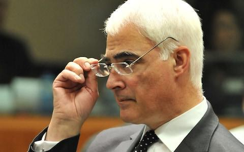 <span>Alistair Darling, the former leader of the Better Together campaign</span> <span>Credit: AFP </span>