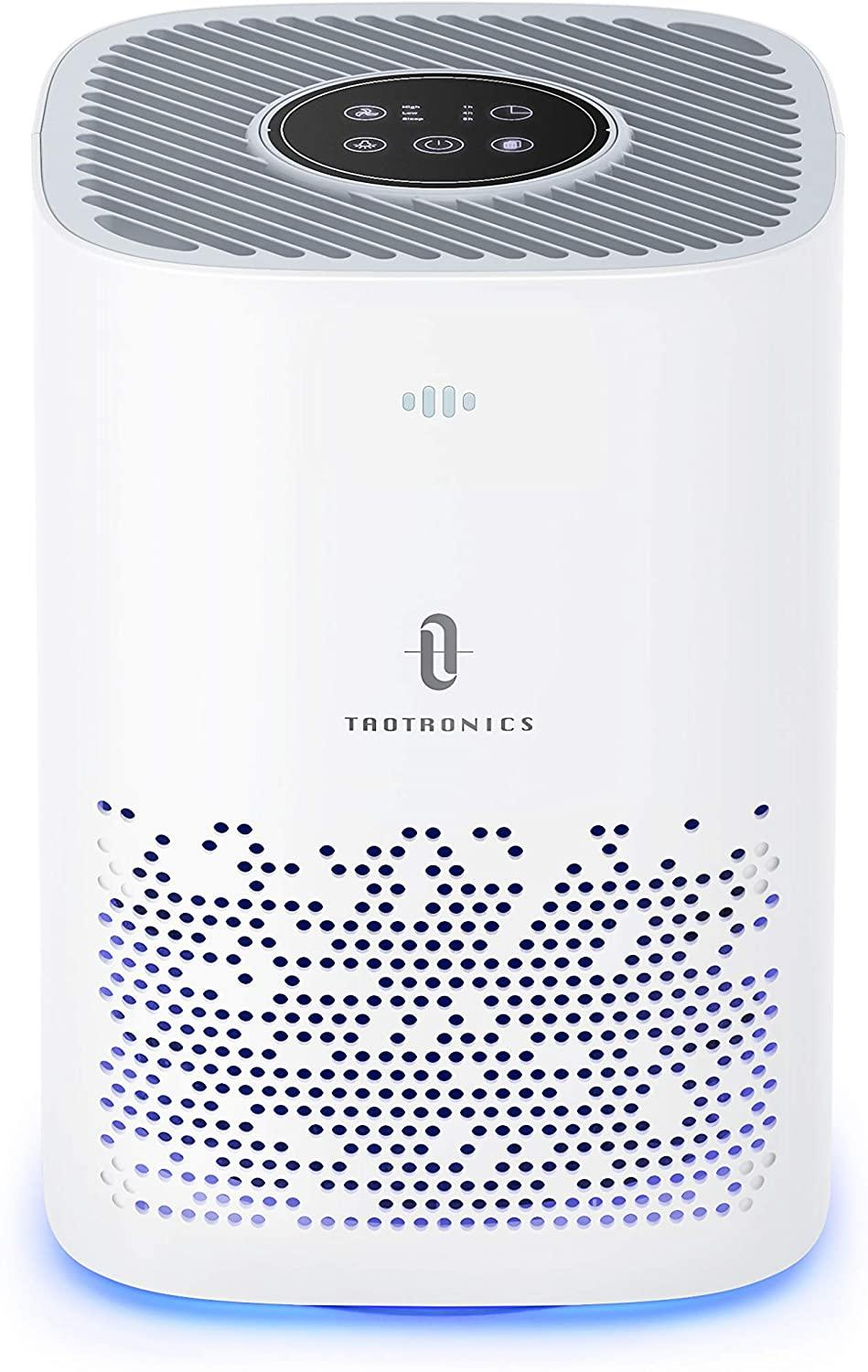 "Clean indoor air is a bigger priority now than ever before, which is likely why this top-rated air purifier became one of readers' top picks of the month. <br><em><strong>SHOP IT: </strong></em><a href=""https://amzn.to/2Ylhgo7"" rel=""nofollow noopener"" target=""_blank"" data-ylk=""slk:Amazon, $130"" class=""link rapid-noclick-resp""><em><strong>Amazon, $130</strong></em></a>"