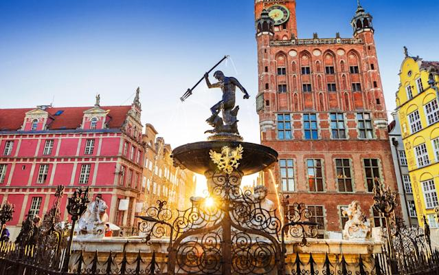 Photogenic Gdansk attracts far fewer tourists than Warsaw and Krakow - iStock