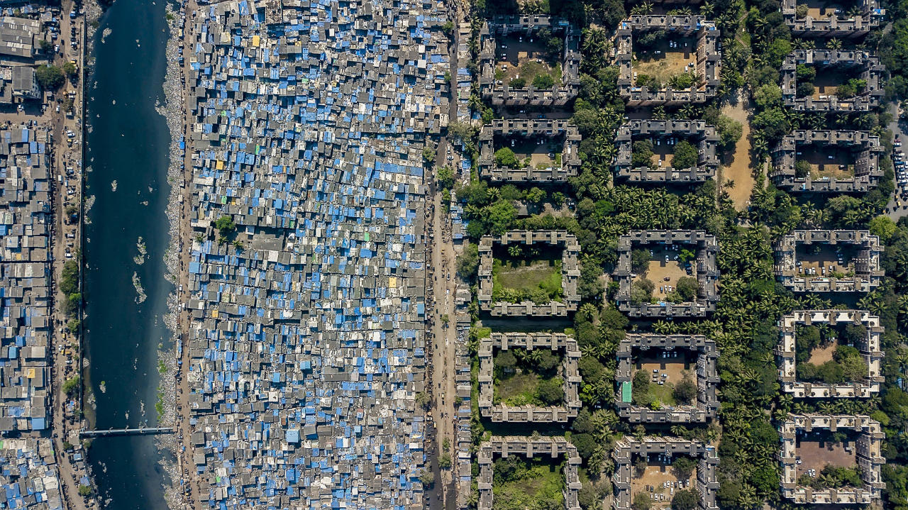 <p>Mumbai, India, 2017. (Photograph by Johnny Miller/Caters News) </p>