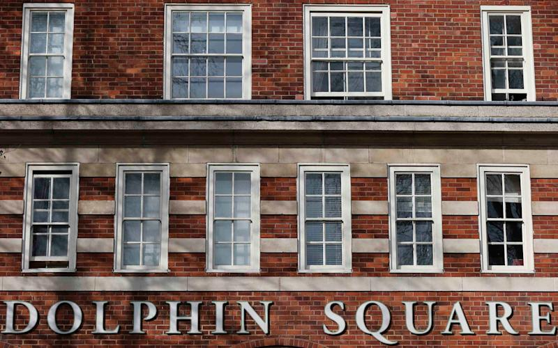 'Nick' told detectives that the men had raped, tortured and even murdered young boys during a number of depraved sex parties held in flats in Dolphin Square close to Parliament - X90130