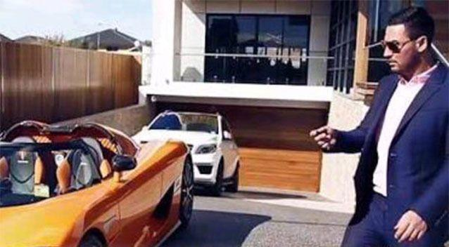Salim Mehajer, 29, fronted Bankstown Local Court on Wednesday where he pleaded guilty to driving a Ferrari without a licence at Punchbowl in Sydney's south-west on October 24.