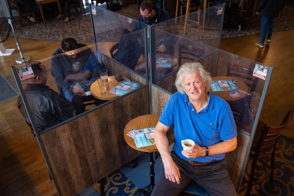 Founder and chairman of JD Wetherspoon Tim Martin (Dominic Lipinski/PA) (PA Archive)