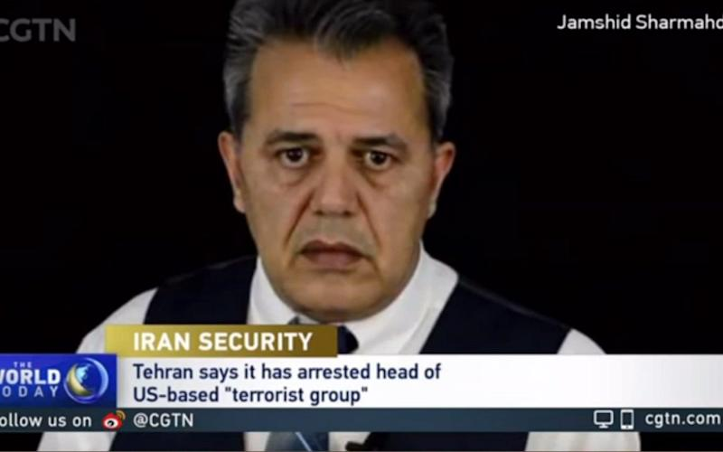 Tehran accuses Jamshid Sharmahd and his group, known as the Kingdom Assembly of Iran, of responsibility for a 2008 attack which killed 14 people in the southern city of Shiraz - CGTN/Youtube/CGTN/Youtube