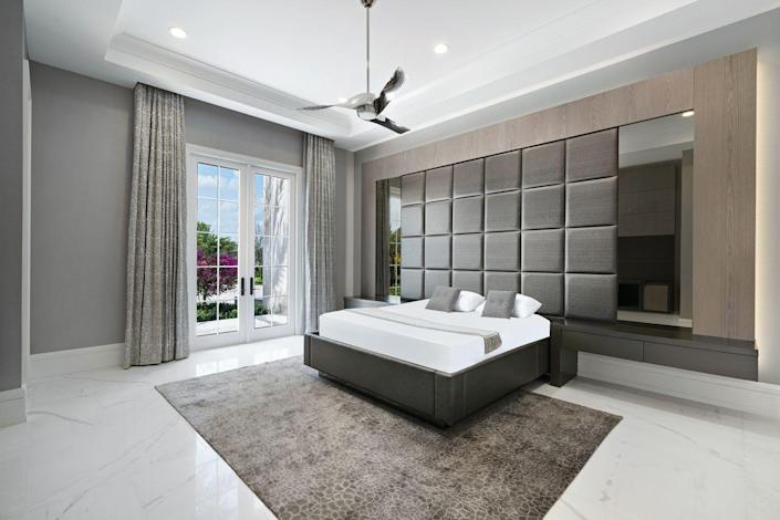 Here's one of seven bedrooms.