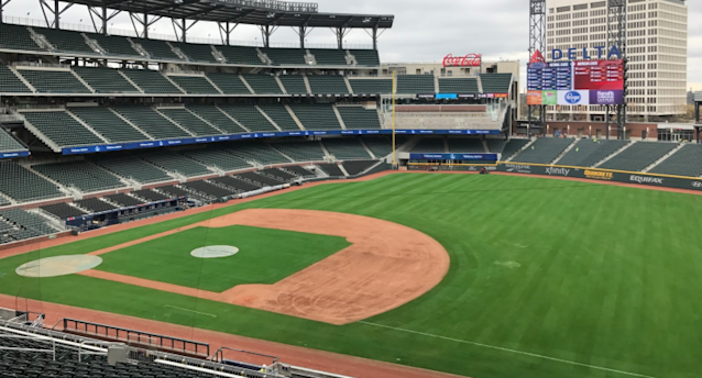 SunTrust Park is ready for its close-up. (Yahoo Sports)