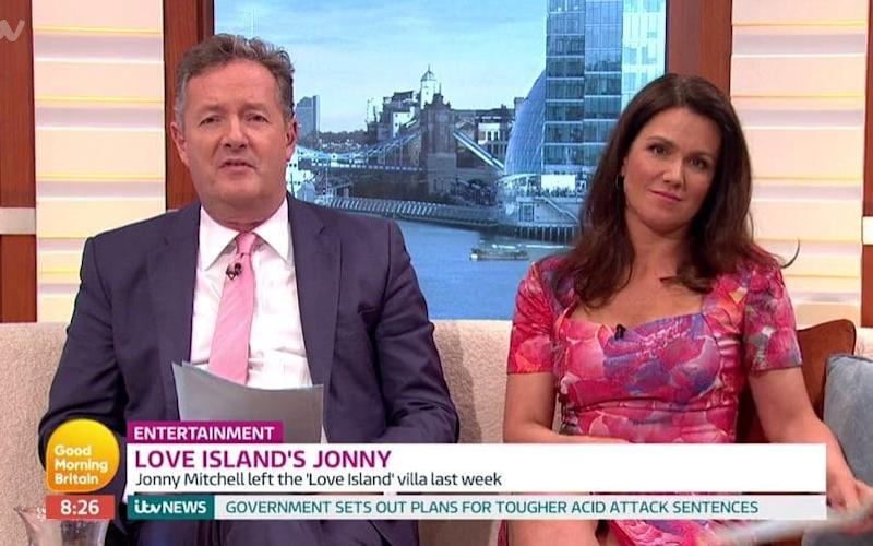 Good Morning Britain - Credit: ITV/Screengrab