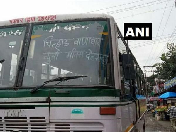 Visuals of bus services resumption after 15 years in Uttarakhand (Photo/ANI)