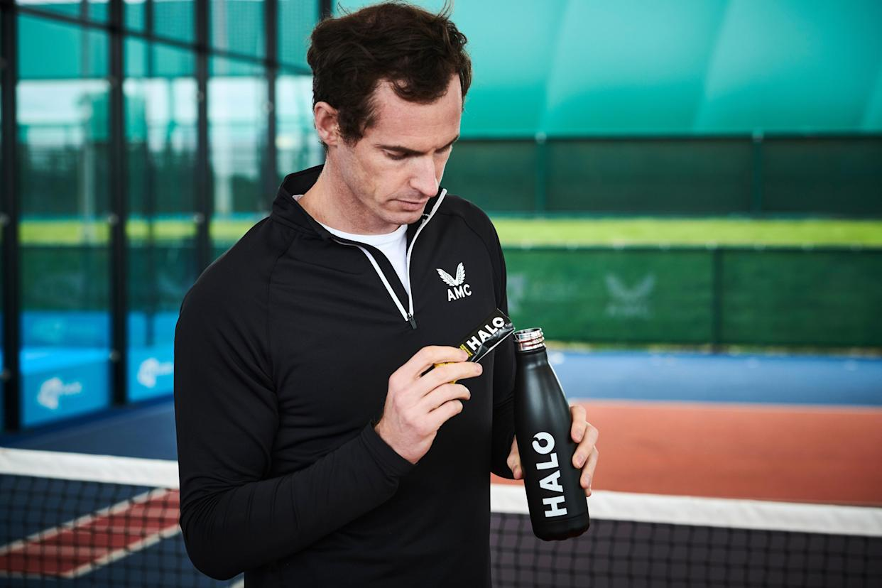 Andy Murray is an ambassador for HALO hydration