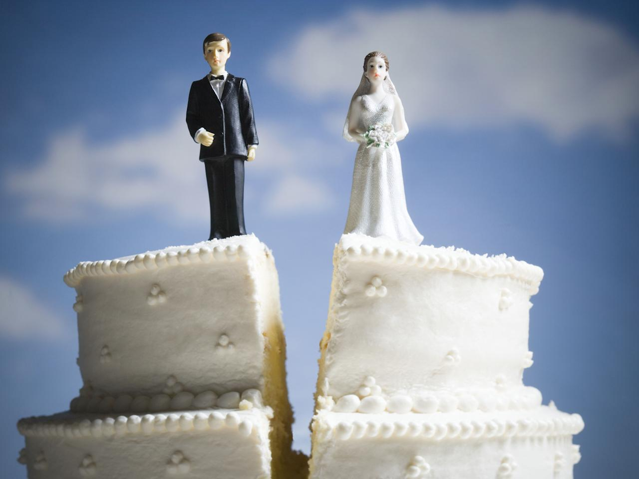 "<p>Splitting up is never easy—whether you've been together two months or twenty years. And divorce can get ugly (remember <em>Marriage Story</em>?). But the truth is...it happens. According to <a href=""https://www.hamptonroadslegal.com/faqs/facts-on-divorce-in-america.cfm"" target=""_blank"">Hampton Roads Legal Services</a>, there are 2,400 divorces per day in the Unites States. So, you're definitely not alone. But just in case you're feeling a little down about this major life change, check out these words of wisdom from authors, philosophers and celebrities who have been there and done that. </p>"
